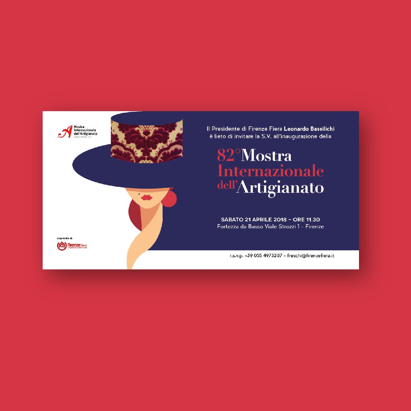 progetto comunicazione - mostra dell'artigianato - manifesto