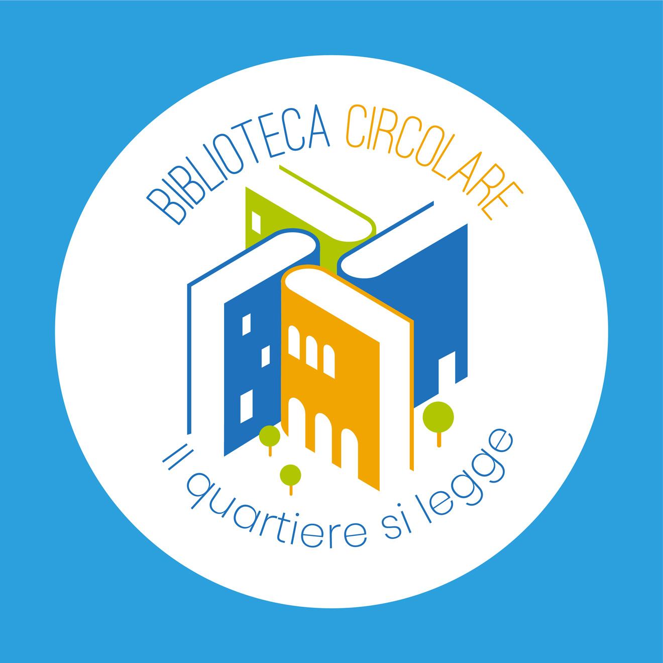 immagine coordinata - biblioteca circolare - logo