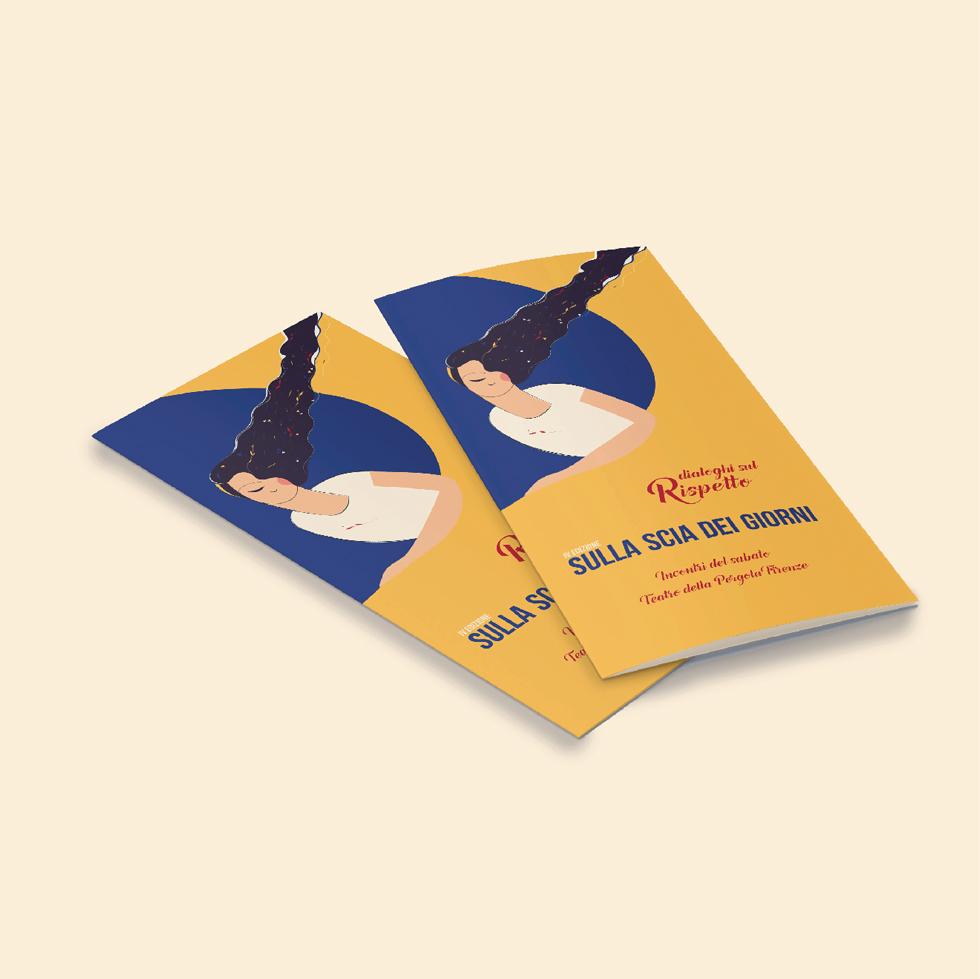 immagine coordinata - sulla scia dei giorni - brochure